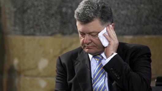Ukraine's President Petro Poroshenko.(Reuters / Ina Fassbender)